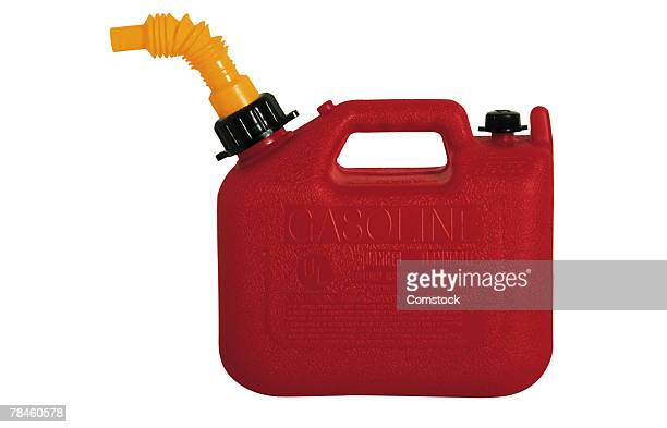 Plastic gas can