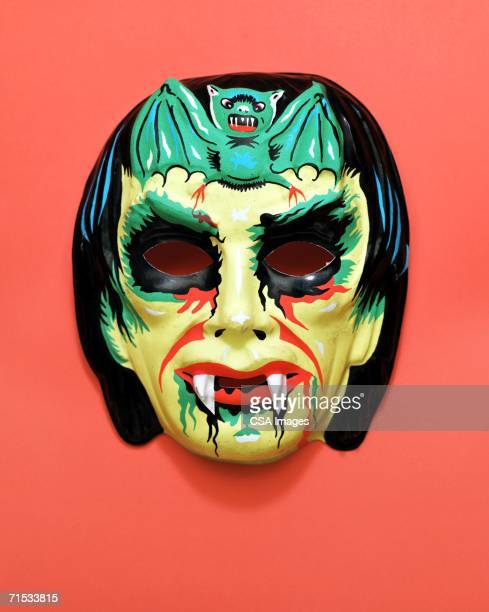 plastic halloween mask - fang stock pictures, royalty-free photos & images