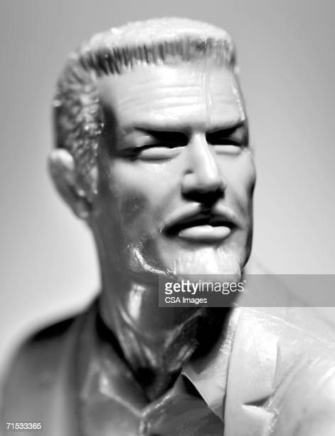 Plastic Head of a Man