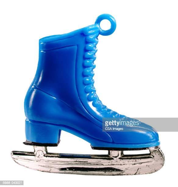 Plastic Ice Skate Charm