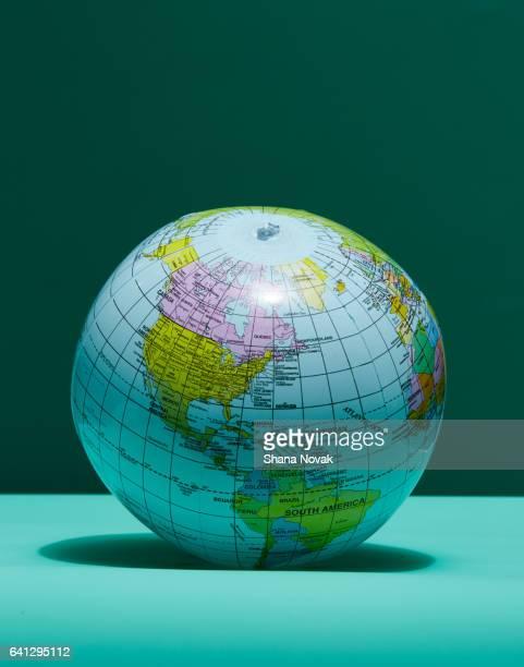 Plastic Inflatable Globe