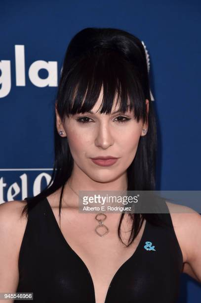 Plastic Martyr attends the 29th Annual GLAAD Media Awards at The Beverly Hilton Hotel on April 12, 2018 in Beverly Hills, California.