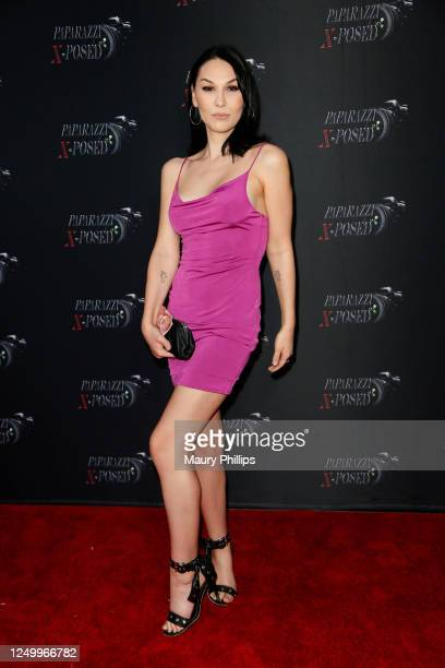 Plastic Martyr attends the Premiere of Paparazzi XPosed on June 15 2020 in Los Angeles California