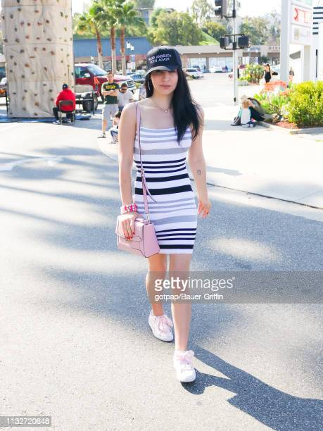 Plastic Martyr is seen on March 24 2019 in Los Angeles California