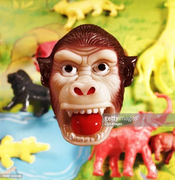 Plastic Monkey Face