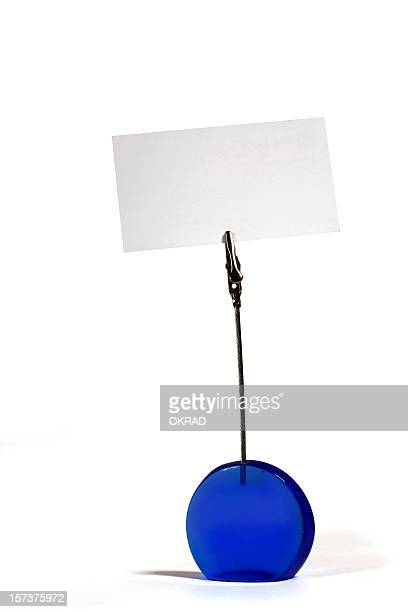 Plastic Photo Holder with Blank Business Card