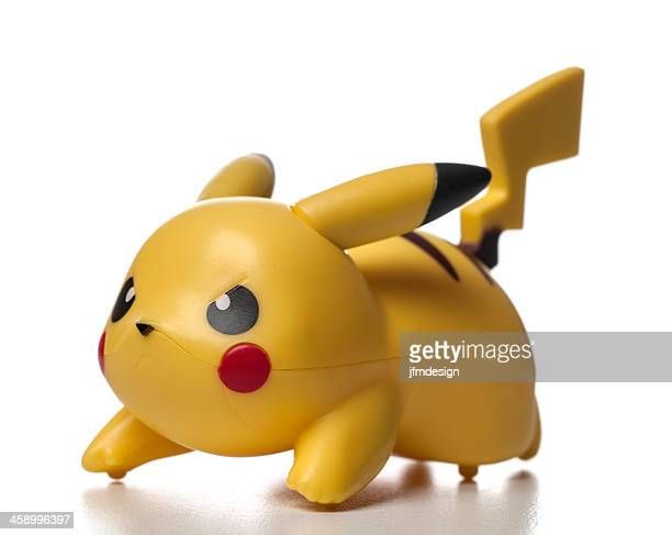 plastic pikachu pokémon character