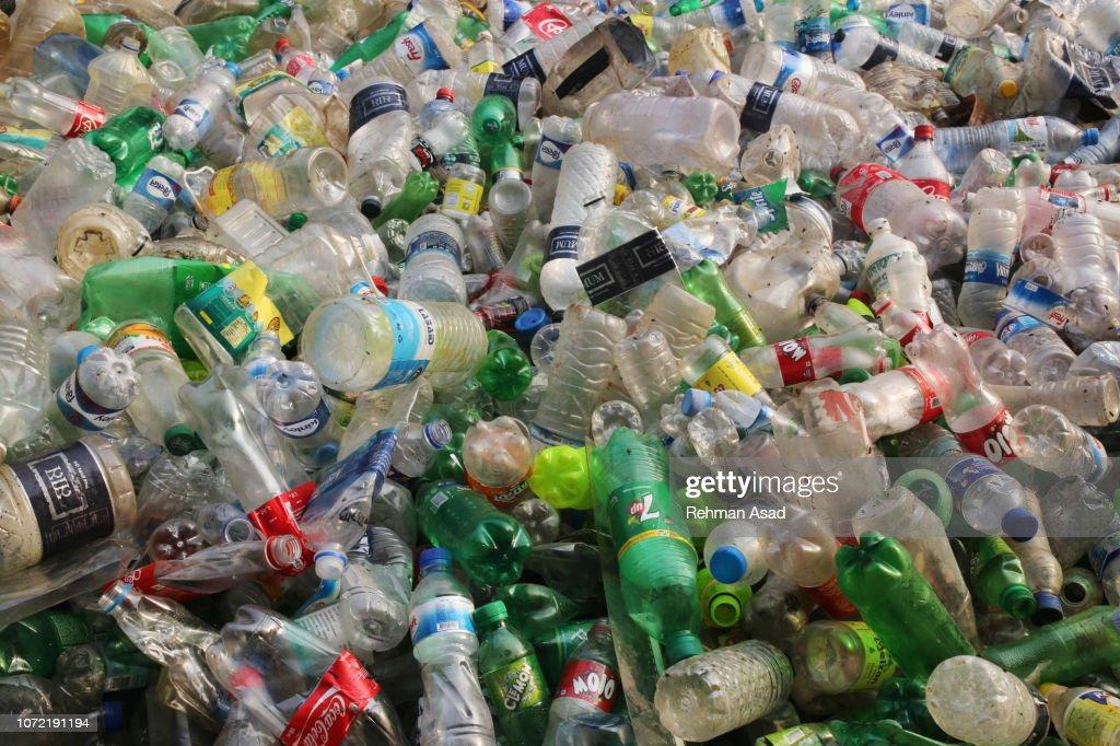 Plastic Pollution : Stock Photo