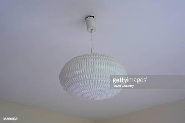 Plastic retro light fitting
