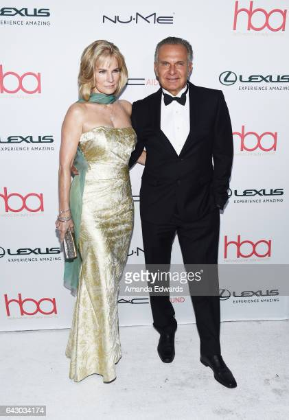 Plastic surgeon Dr Andrew Ordon and Robyn Meyerhoff arrive at the 3rd Annual Hollywood Beauty Awards at Avalon Hollywood on February 19 2017 in Los...