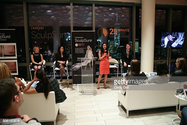 Plastic Surgeon Dr Jennifer Levine speaks to editors about SculpSure the world's first lightbased laser body contouring treatment at the SculpSure...