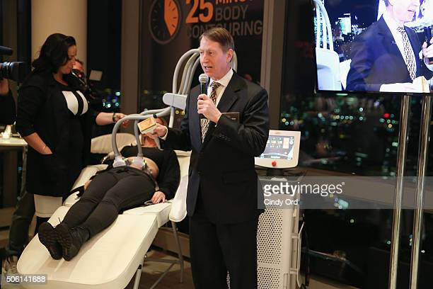 Plastic Surgeon Dr Lawrence Bass speaks to editors about SculpSure the world's first lightbased laser body contouring treatment at the SculpSure...