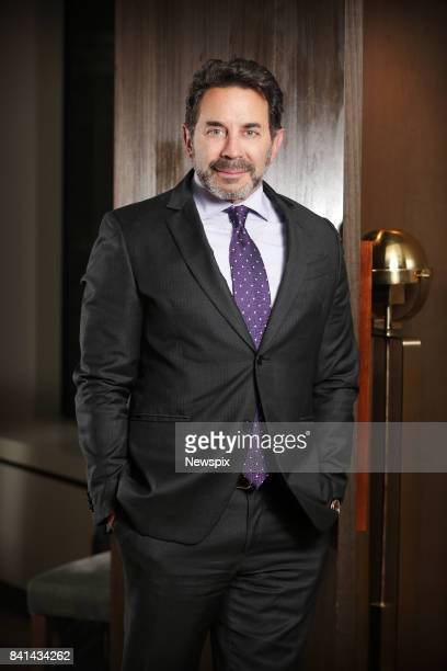 SYDNEY NSW Plastic Surgeon Dr Paul Nassif poses during a photo shoot at the ShangriLa Hotel in Sydney New South Wales