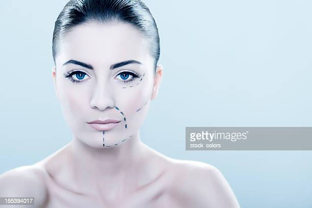 plastic surgery at face