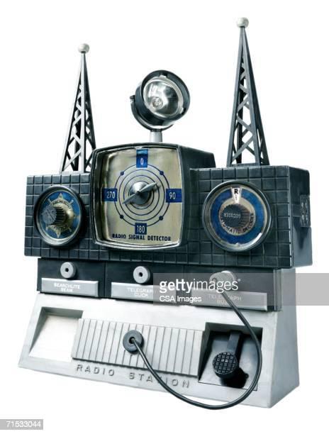 Plastic Toy Radio Station