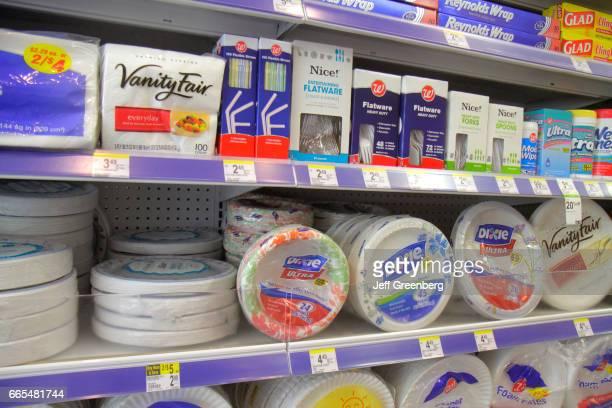 Plastic utensils for sale in Walgreens