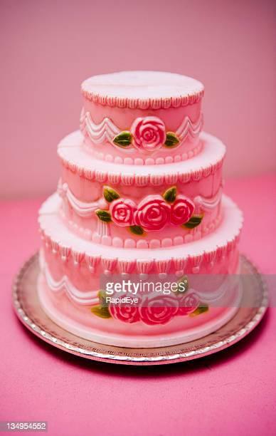 Plastic wedding cake