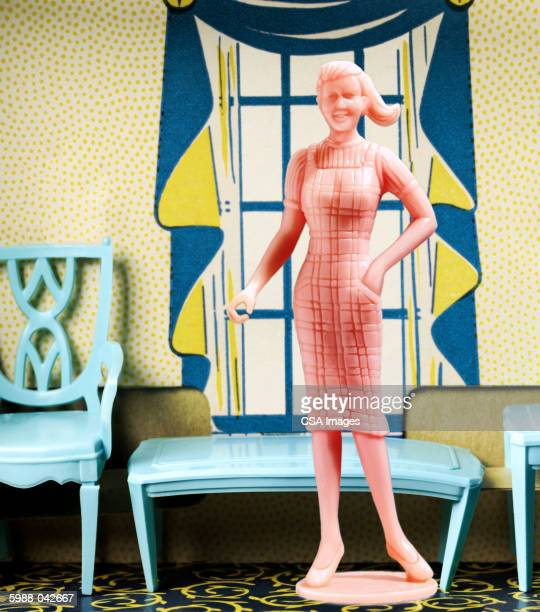 Plastic Woman in Doll House