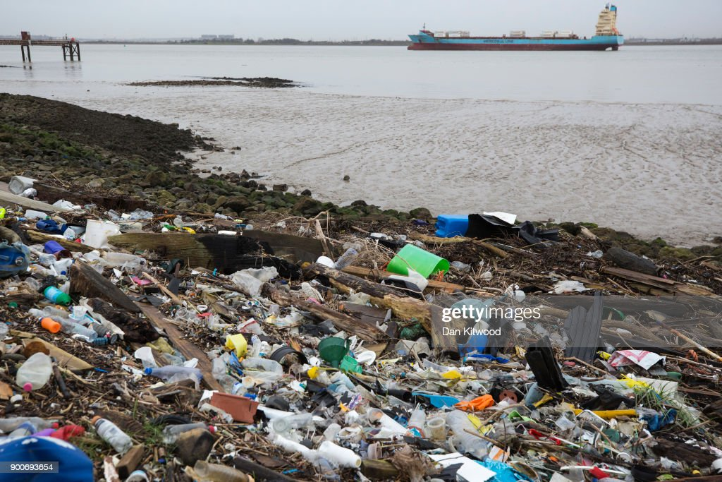 Plastic Pollution Is Choking The World's Oceans : News Photo