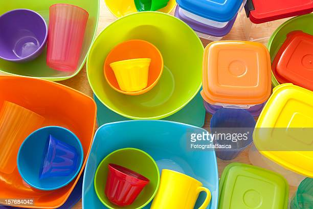 plasticware - kitchen utensil stock pictures, royalty-free photos & images