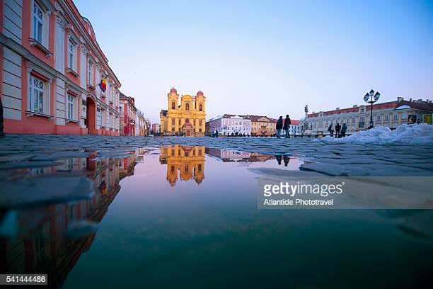 Plata Unini, Stantul Cathedral, Timisoara, Romania