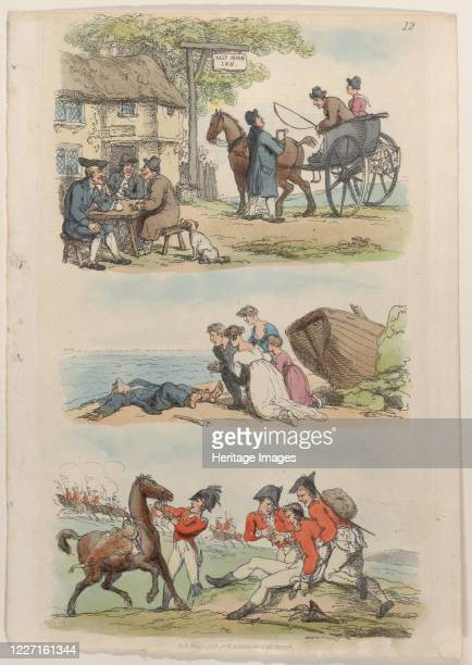 Plate 12 from World in Miniature 1816 Artist Thomas Rowlandson