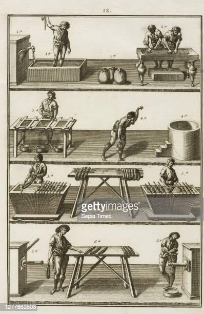 Plate 12, Tratado instructivo, y práctico, sobre el arte de la tintura: reglas experimentadas y metódicas para tintar sedas, lanas, hilos de todas...