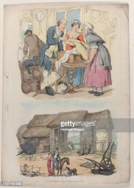 Plate 5 from World in Miniature 1816 Artist Thomas Rowlandson