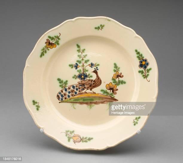 Plate, Burslem, circa 1770. Artist Wedgwood.