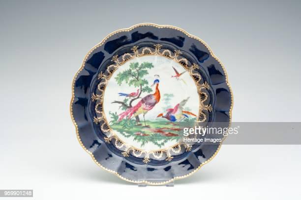 Plate, circa 1770-1775. Artist Unknown.