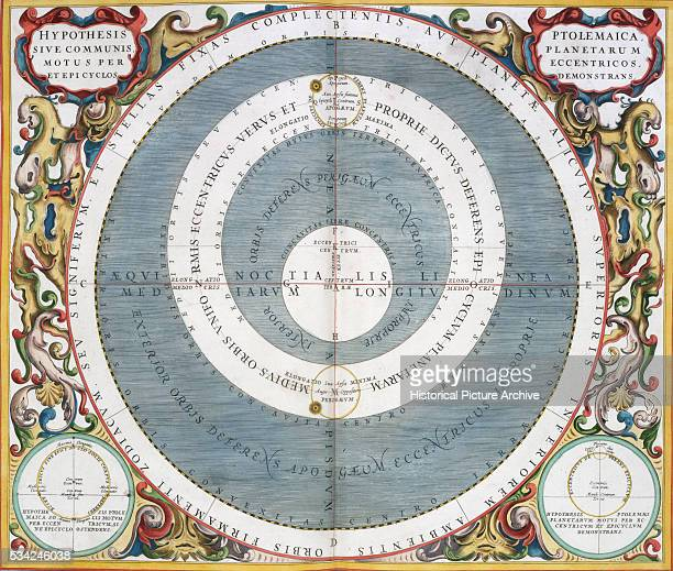A plate from the Harmonia Macrocosmica atlas by Andreas Cellarius