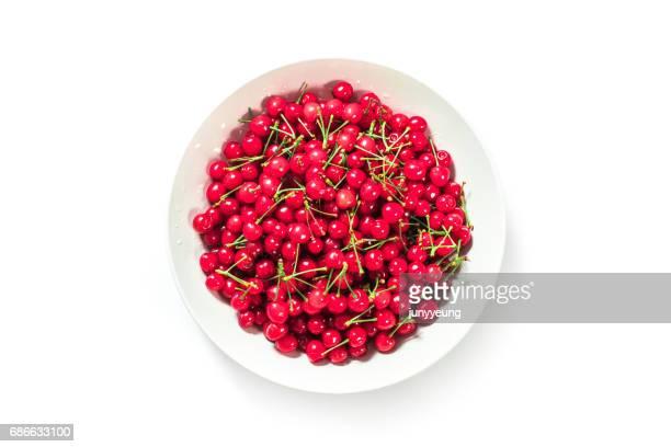 plate of cherries