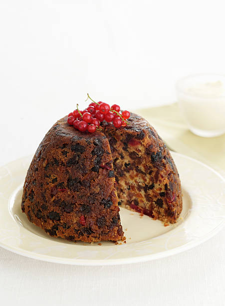 Plate Of Christmas Pudding Wall Art