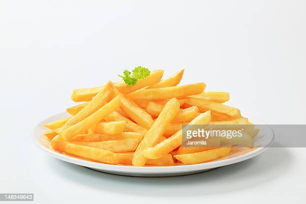 Plate of delicious looking French fries