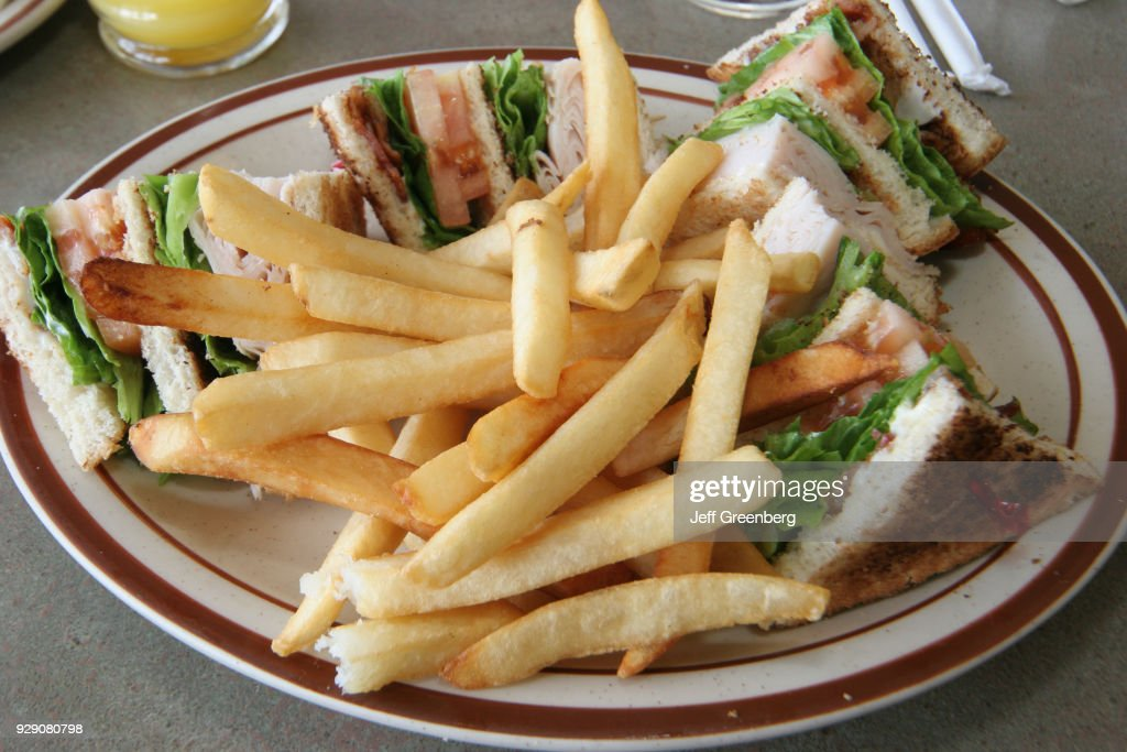 A plate of food from Denny's Restaurant. : News Photo