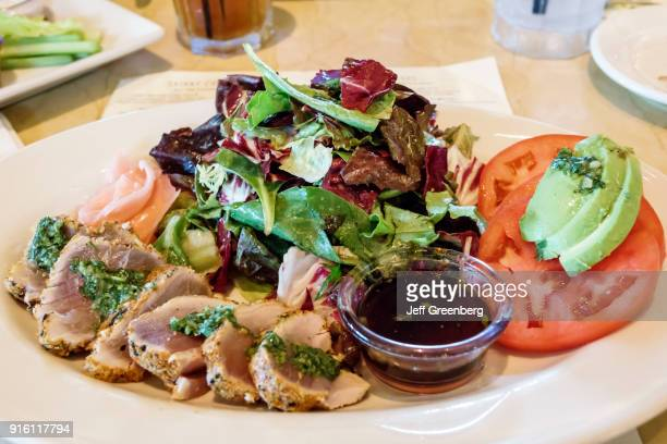 A plate of food from the Cheesecake Factory at Coastland Center Shopping Mall