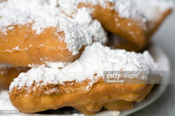 Plate of Hot Beignets