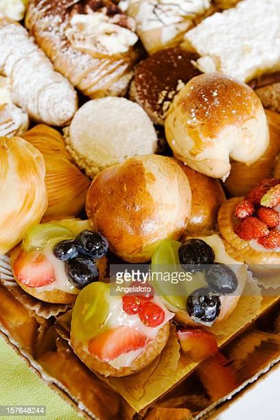 Plate of Italian Pastries
