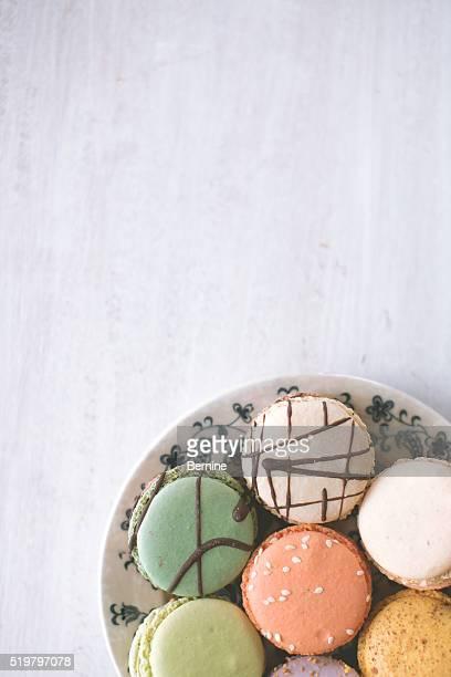 Plate of Macarons