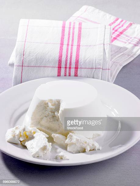 A plate of ricotta