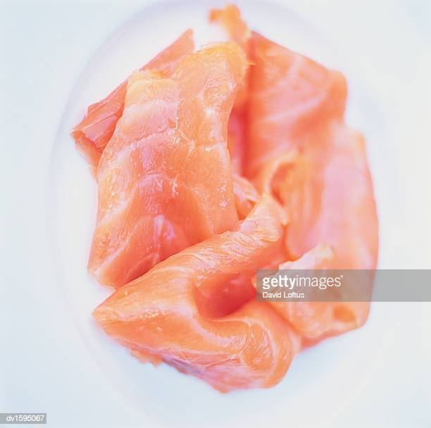 Plate of Smoked Salmon
