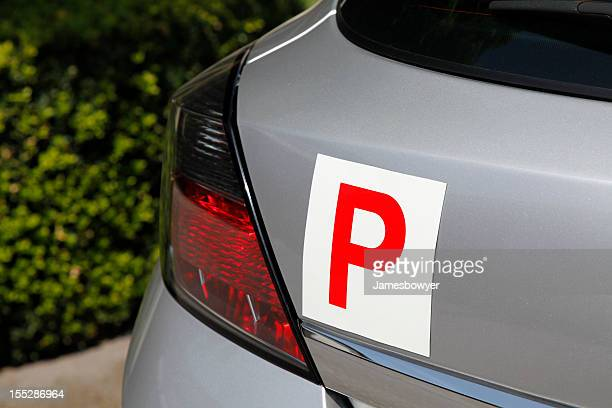 p plate - letter p stock pictures, royalty-free photos & images