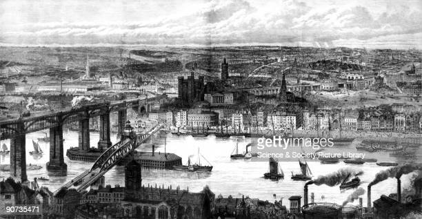 Plate taken from the Illustrated London News During the 19th century certain towns evolved into cities and occasionally the ILN focused on this...