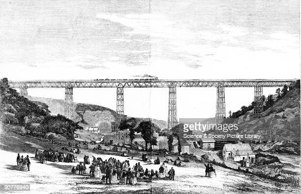 Plate taken from the Illustrated London News The Crumlin Viaduct opened 1857 was the most famous of all the early Warren truss bridges and with it...