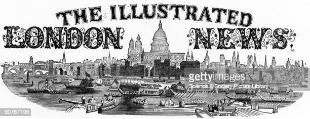 Plate taken from the �Illustrated London News� The logo of the newspaper founded by Hebert Ingram in 1842 Ingram trained as an apprentice printer...