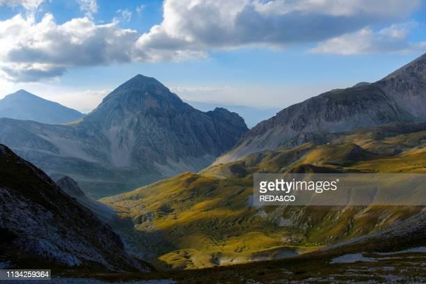 Plateau Campo Imperatore. Gran Sasso e Monti della Laga National Park. Abruzzo. Italy.