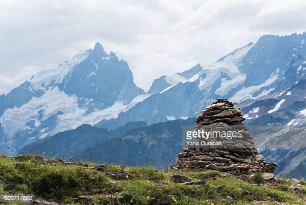 plateau d'emparis, oisans, isere, france - 石塚 ストックフォトと画像
