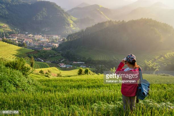 a plateau explorer - vietnam stock pictures, royalty-free photos & images