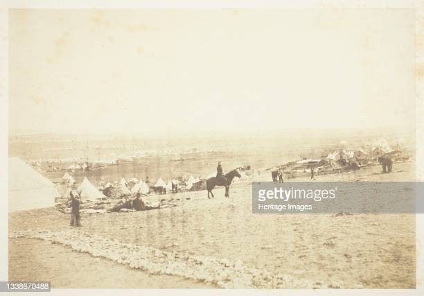 Plateau of Sebastopol, 1855. A work made of salted paper print, from the album 'photographic pictures of the seat of war in the crimea' . Artist...