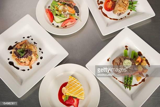 コースのお - コース料理 ストックフォトと画像